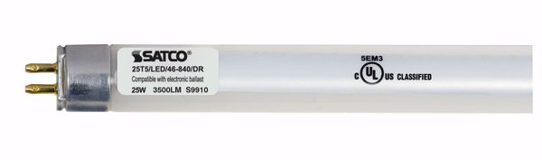 Picture of SATCO S9910 25T5/LED/46-840/DR LED Light Bulb