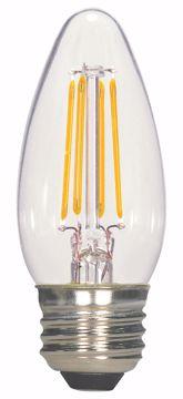 Picture of SATCO S9964 5.5W ETC/LED/27K/CL/120V LED Light Bulb