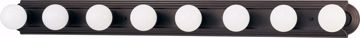 """Picture of NUVO Lighting 60/1287 8 Light 48"""" Vanity Racetrack Style"""
