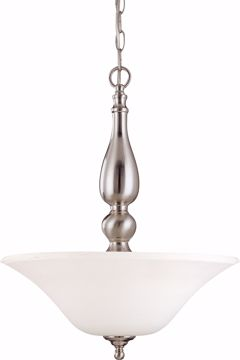 Picture of NUVO Lighting 60/1828 Dupont - 3 Light Pendant with Satin White Glass