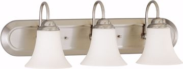 Picture of NUVO Lighting 60/1834 Dupont - 3 Light Vanity with Satin White Glass