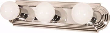 "Picture of NUVO Lighting 60/296 3 Light - 18"" - Vanity - Racetrack Style"