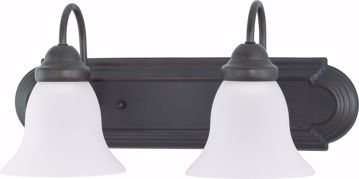 "Picture of NUVO Lighting 60/3161 Ballerina - 2 Light 18"" Vanity with Frosted White Glass"