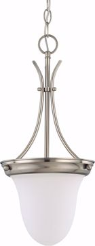 "Picture of NUVO Lighting 60/3259 1 Light 10"" Pendant with Frosted White Glass"