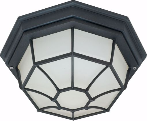 """Picture of NUVO Lighting 60/3452 1 Light - 12"""" - Ceiling Spider Cage Fixture - Die Cast; Glass Lens; Color retail packaging"""