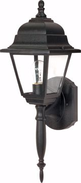 "Picture of NUVO Lighting 60/3455 Briton - 1 Light - 18"" - Wall Lantern - with Clear Seed Glass; Color retail packaging"