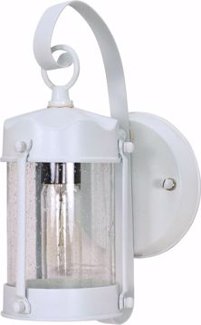 "Picture of NUVO Lighting 60/3460 1 Light - 11"" - Wall Lantern - Piper Lantern with Clear Seed Glass; Color retail packaging"