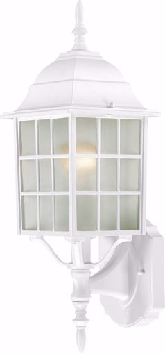 """Picture of NUVO Lighting 60/3477 Adams - 1 Light - 18"""" Outdoor Wall with Frosted Glass; Color retail packaging"""