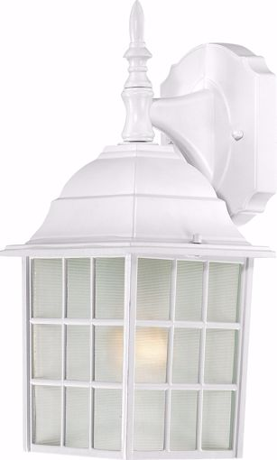 """Picture of NUVO Lighting 60/3480 Adams - 1 Light - 14"""" Outdoor Wall with Frosted Glass; Color retail packaging"""