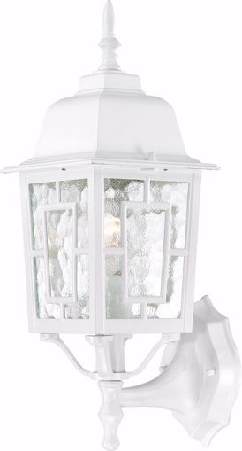 """Picture of NUVO Lighting 60/3487 Banyan - 1 Light - 17"""" Outdoor Wall with Clear Water Glass; Color retail packaging"""