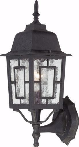"""Picture of NUVO Lighting 60/3489 Banyan - 1 Light - 17"""" Outdoor Wall with Clear Water Glass; Color retail packaging"""