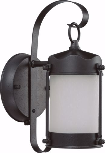 Picture of NUVO Lighting 60/3946 1 Light Piper Outdoor Wall with Frosted Glass - (1) 13w GU24 Lamp Included