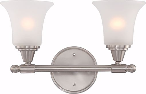 Picture of NUVO Lighting 60/4142 Surrey - 2 Light Vanity Fixture with Frosted Glass