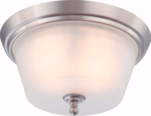 Picture of NUVO Lighting 60/4152 Surrey - 2 Light Flush Dome Fixture with Frosted Glass
