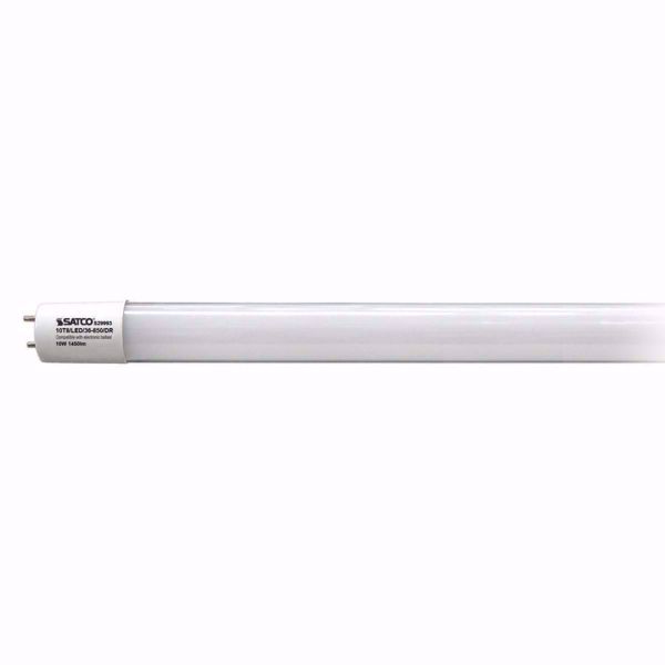 "Picture of SATCO S29993 10T8/LED/36-850/DR 36"" LED Light Bulb"