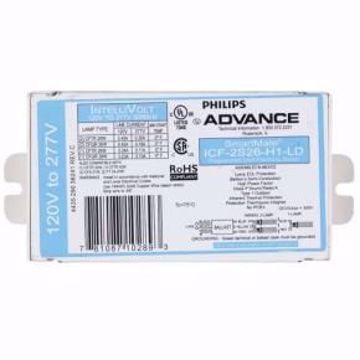 Picture of Philips Advance Advance ICF-2S26-H1-LD 1 - Light  2/26 4PIN UNV BALLAST