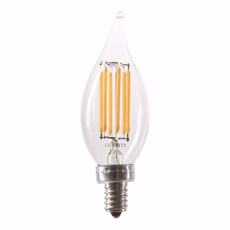 Picture of LUXRITE LR 21203 LED6CFC/CL/27K LED Light Bulb