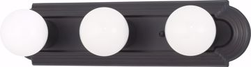 """Picture of NUVO Lighting 60/1284 3 Light 18"""" Vanity Racetrack Style"""