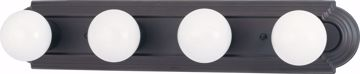 """Picture of NUVO Lighting 60/1285 4 Light 24"""" Vanity Racetrack Style"""