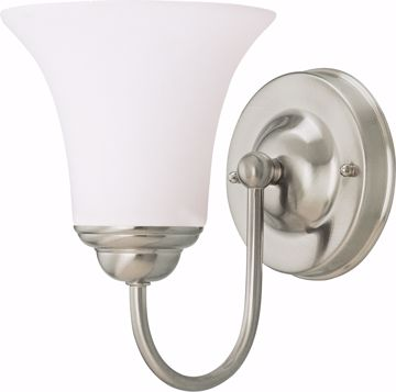 Picture of NUVO Lighting 60/1832 Dupont - 1 Light Vanity with Satin White Glass