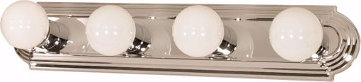 "Picture of NUVO Lighting 60/297 4 Light - 24"" - Vanity - Racetrack Style"