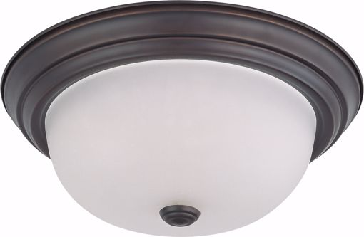 """Picture of NUVO Lighting 60/3146 2 Light 13"""" Flush Mount with Frosted White Glass"""