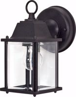 """Picture of NUVO Lighting 60/3465 1 Light - 9"""" - Wall Lantern - Cube Lantern with Clear Beveled Glass; Color retail packaging"""