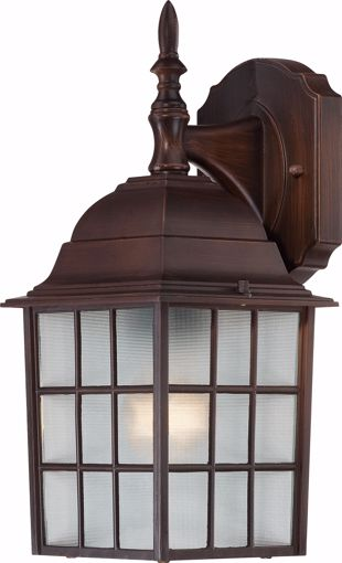 """Picture of NUVO Lighting 60/3481 Adams - 1 Light - 14"""" Outdoor Wall with Frosted Glass; Color retail packaging"""