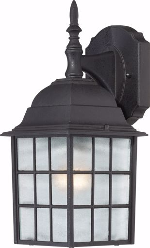 """Picture of NUVO Lighting 60/3482 Adams - 1 Light - 14"""" Outdoor Wall with Frosted Glass; Color retail packaging"""