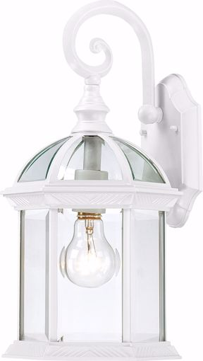 "Picture of NUVO Lighting 60/3494 Boxwood - 1 Light - 15"" Outdoor Wall with Clear Seed Glass; Color retail packaging"