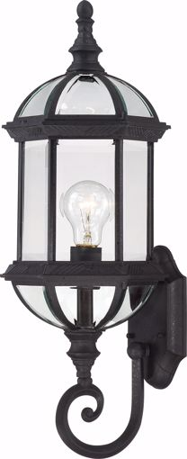 "Picture of NUVO Lighting 60/3499 Boxwood - 1 Light 22"" Outdoor Wall with Clear Beveled Glass; Color retail packaging"