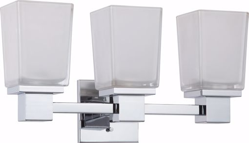 Picture of NUVO Lighting 60/4003 Parker - 3 Light Vanity Fixture with Sandstone Etched Glass
