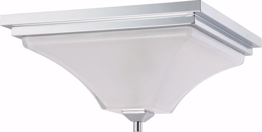 Picture of NUVO Lighting 60/4006 Parker - 2 Light Flush Fixture with Sandstone Etched Glass