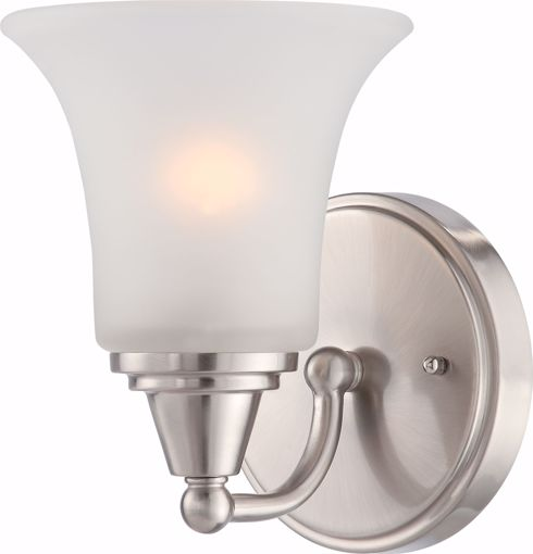 Picture of NUVO Lighting 60/4141 Surrey - 1 Light Vanity Fixture with Frosted Glass