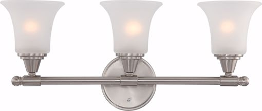 Picture of NUVO Lighting 60/4143 Surrey - 3 Light Vanity Fixture with Frosted Glass
