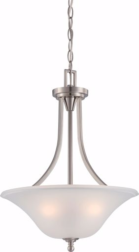Picture of NUVO Lighting 60/4147 Surrey - 3 Light Pendant Fixture with Frosted Glass