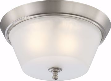 Picture of NUVO Lighting 60/4153 Surrey - 3 Light Flush Dome Fixture with Frosted Glass