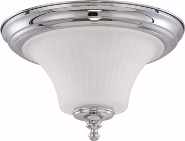 Picture of NUVO Lighting 60/4271 Teller - 2 Light Flush Dome Fixture with Frosted Etched Glass