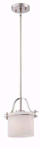 Picture of NUVO Lighting 60/5105 Loren - 1 Light Mini Pendant with Oval Frosted Glass