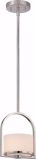 Picture of NUVO Lighting 60/5478 Celine - 1 Light Mini Pendant with Etched Opal Glass
