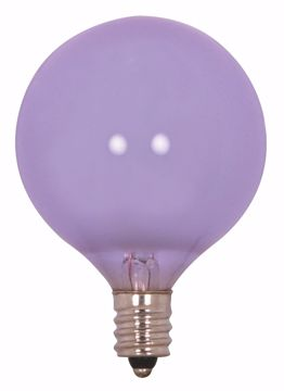 Picture of SATCO S2975 60G16.5 VERILUX GLOBE VLX Incandescent Light Bulb