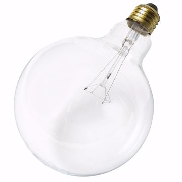 Picture of SATCO S3011 40G40 CLEAR Incandescent Light Bulb