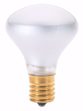 Picture of SATCO S3215 40W R14 INTERMEDIATE BASE Incandescent Light Bulb