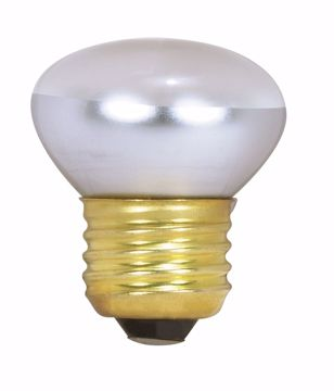 Picture of SATCO S3601 25R14/SP/120V MED BASE STUBBY Incandescent Light Bulb