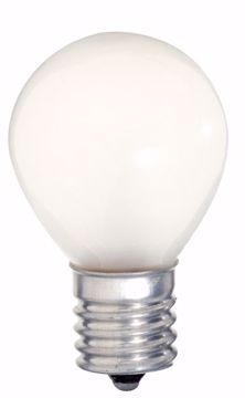 Picture of SATCO S3622 10W S11  Frosted INT Incandescent Light Bulb
