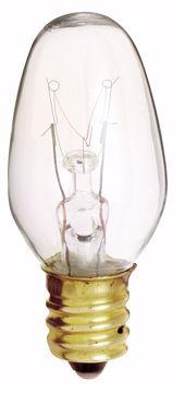 Picture of SATCO S3691 7C7 NITELITE Clear Incandescent Light Bulb