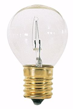 Picture of SATCO S3718 25W S11 CL INTER BASE Incandescent Light Bulb