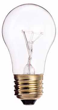 Picture of SATCO S3810 40A15 CLEAR BOXED 130V Incandescent Light Bulb