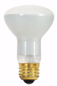 Picture of SATCO S3849 45R20 REFLECTOR 130V Incandescent Light Bulb