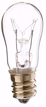 Picture of SATCO S3900 6S6 CLEAR 130V. Incandescent Light Bulb